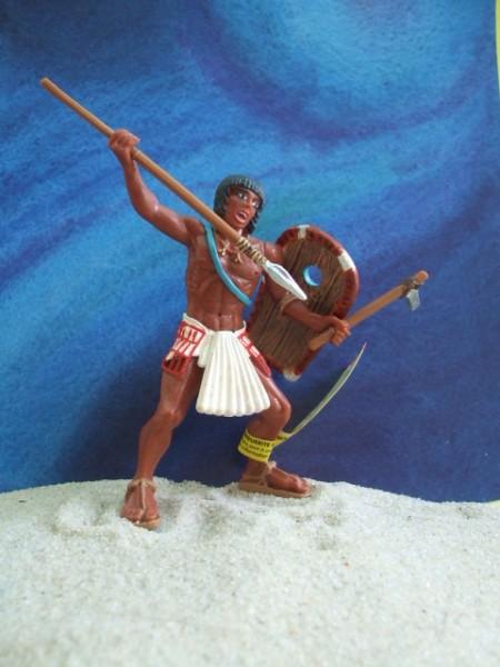 Ägyptischer Krieger ... mit Speer