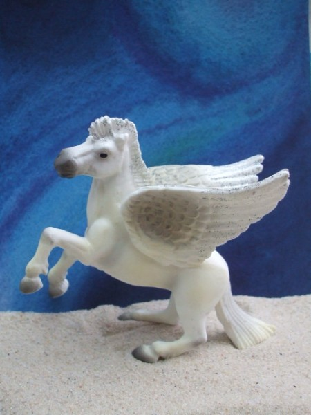 'Pegasus' mit Silberglanz