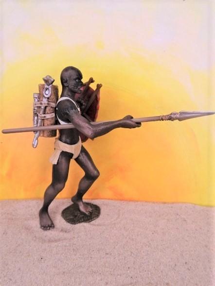 Afrikanischer Krieger - 'Der stolze Afrikaner'