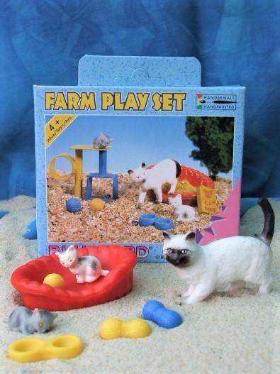Farm Play Set 'Katzenmutter'