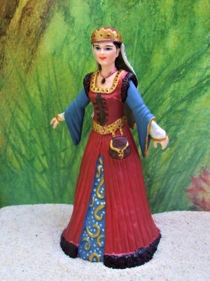 Junge mittelalterliche Königin