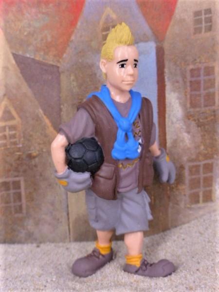 'Markus' - Blonder Junge mit Irokesenfrisur