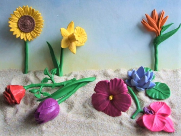 Röhre: Blumen - Serie 'Flowers'