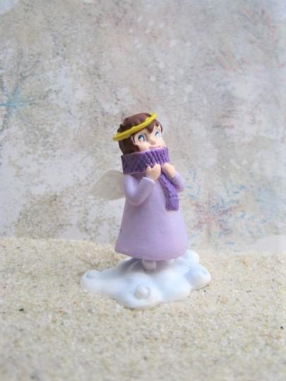 Mini 'Glücksengel' / Schutzengel ... mit Schal