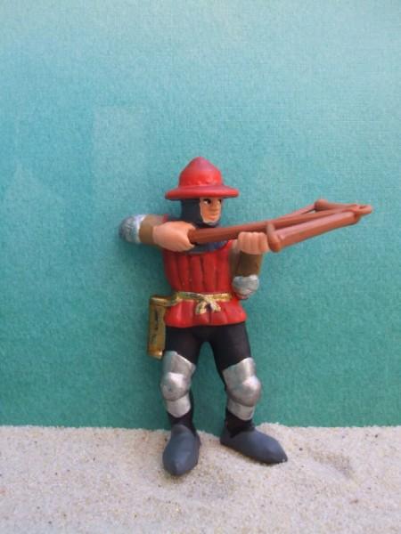 Ritter: Bogenschütze - rot