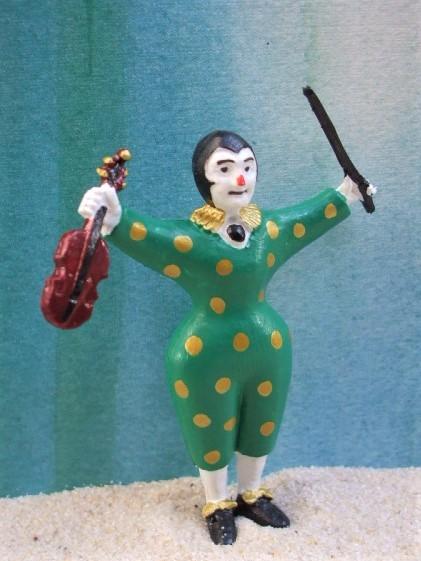 Pierrot ... mit Violine