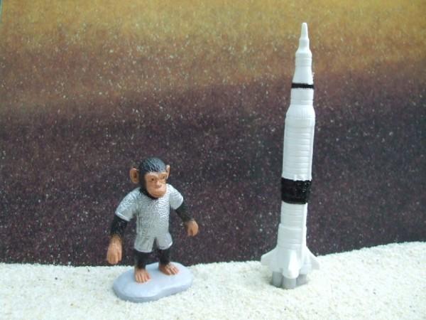'Little Astronauts' - Weiße Rakete & Erster Affe im Weltraum