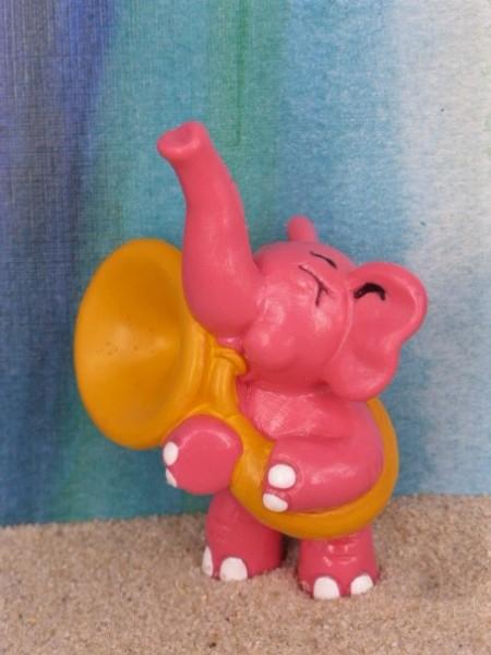 'Der Rosarote Elefant' / Pink Elephant ... mit Tuba