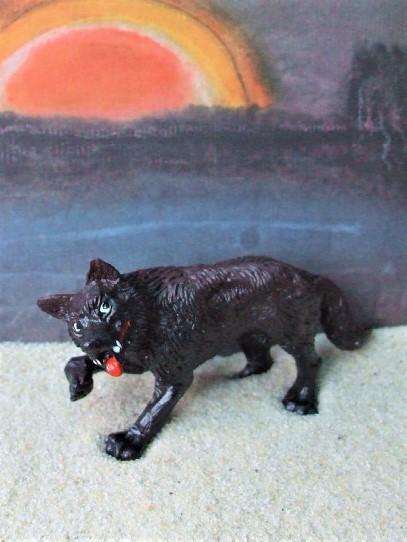 'Böser Wolf' aus 'Rotkäppchen'
