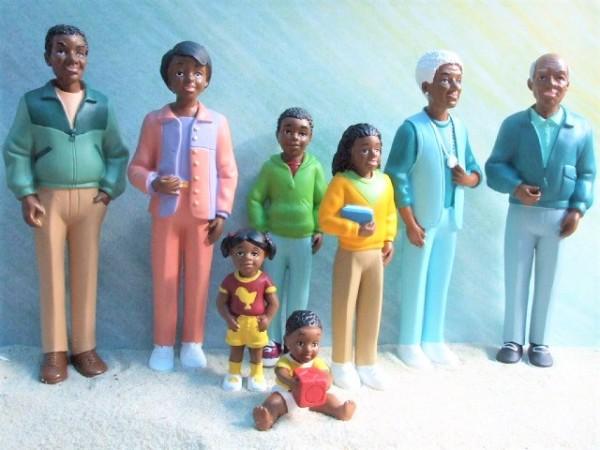 ...del mundo: SET 'Afroamerikanische Familie'
