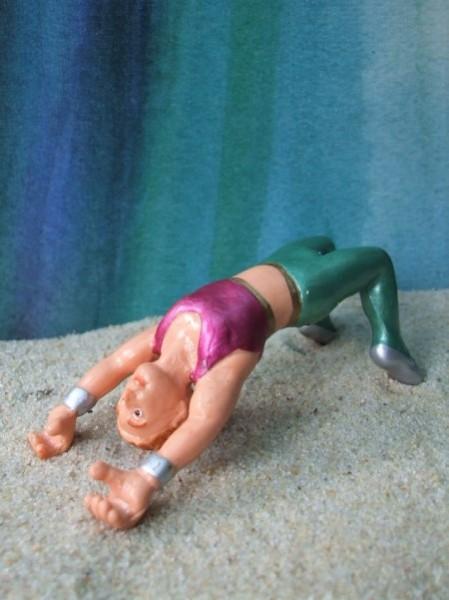 Artist / Akrobat - grüne Hosen