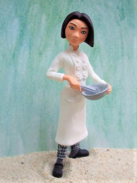 'Colette' - Küchenmädchen mit Rührschüssel