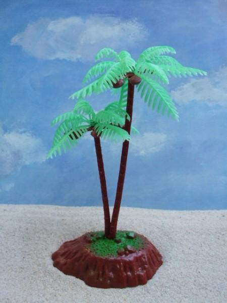Kokospalmen ... auf kleiner Insel