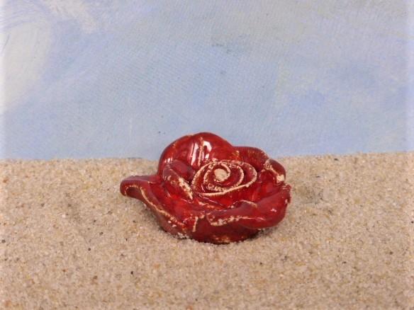 Kleine Blüte: 'Rose'