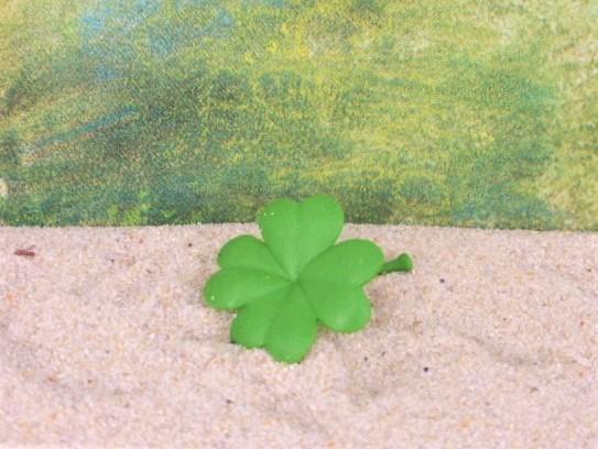 Vierblättriges Kleeblatt - Serie 'Good Luck Minis'
