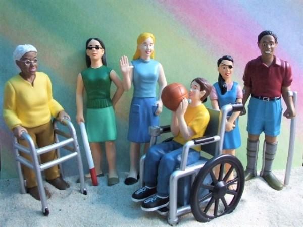 ...del mundo: SET 'Menschen mit Behinderungen'