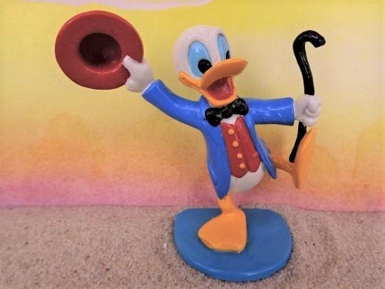 'Donald Duck'... mit Stock & Hut