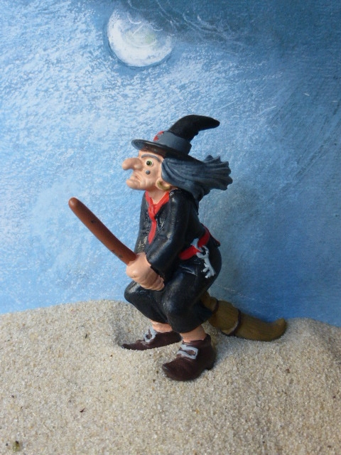 8ea991a085c Witch ... flying on a Broom