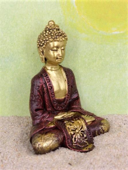 'Monsun' Buddha - rot/gold