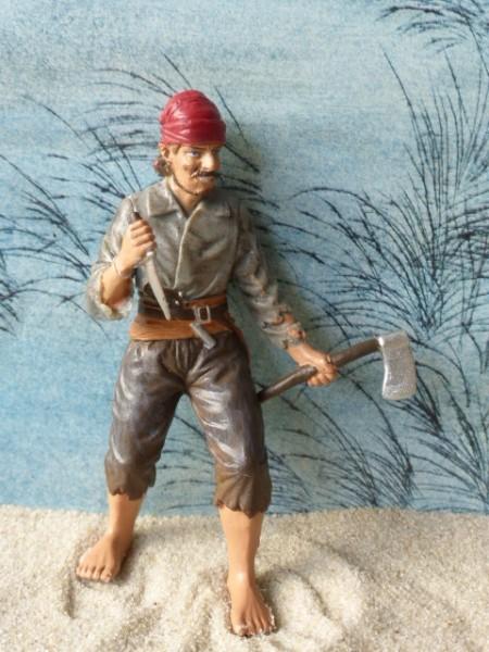 Bootsmann 'Benjamin Jeffrey' - Pirat mit Axt & Messer