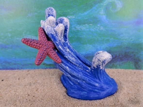 Welle / Meereswelle ... mit Seestern