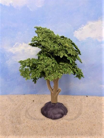 Busch / Baum ... Baumkrone beflockt