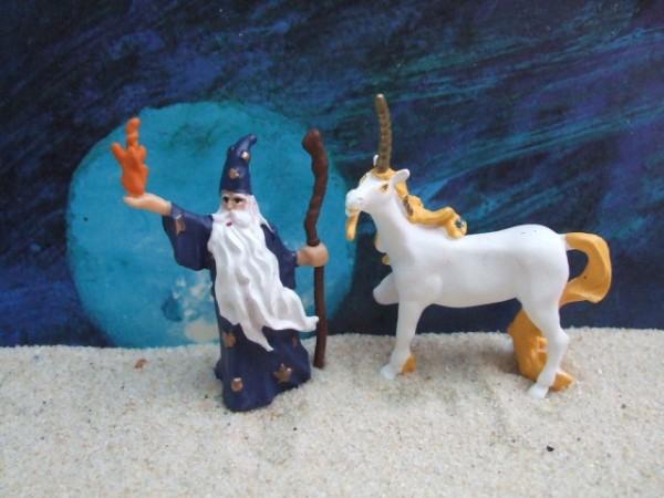 'Little Tales' - Magier & Einhorn