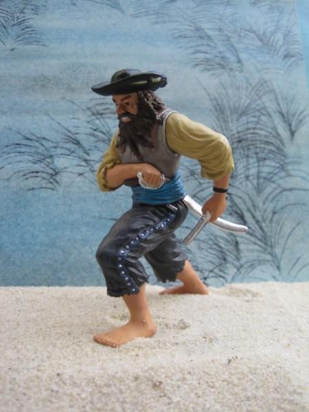 Kanonier 'Phillip Morton' - Pirat mit Säbel & Pistole