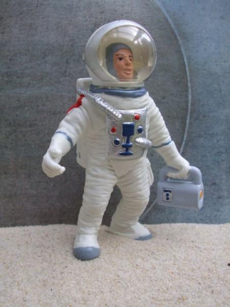 Astronaut ... mit Spacerucksack & Lampe