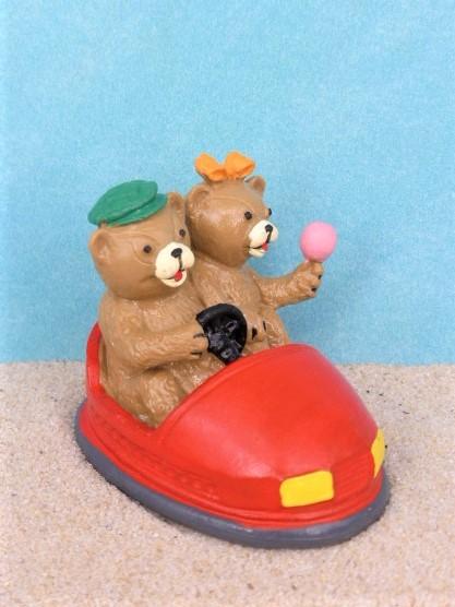 Teddy ... fährt Autoscooter