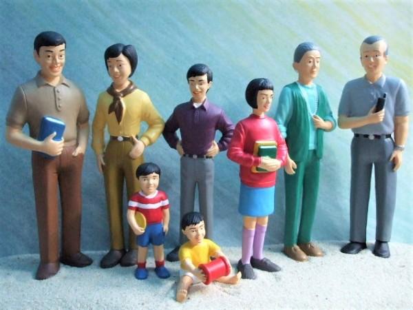 ...del mundo: SET 'Asiatische Familie'