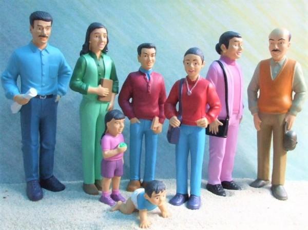 ...del mundo: SET 'Südamerikanische Familie'