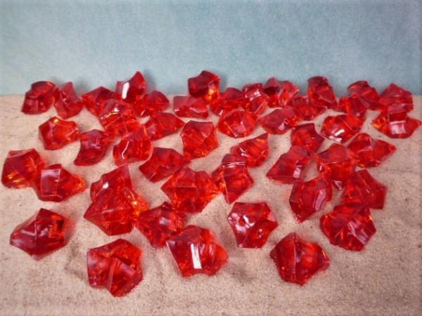 'Edelsteine' - rotes Acrylglas