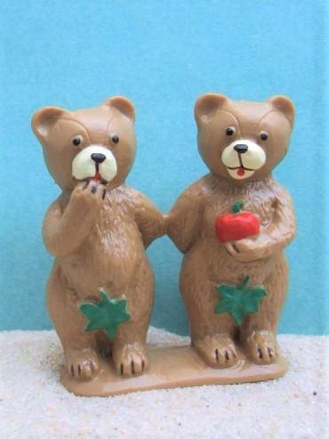 Bärenpaar: 'Adam' & 'Eva'