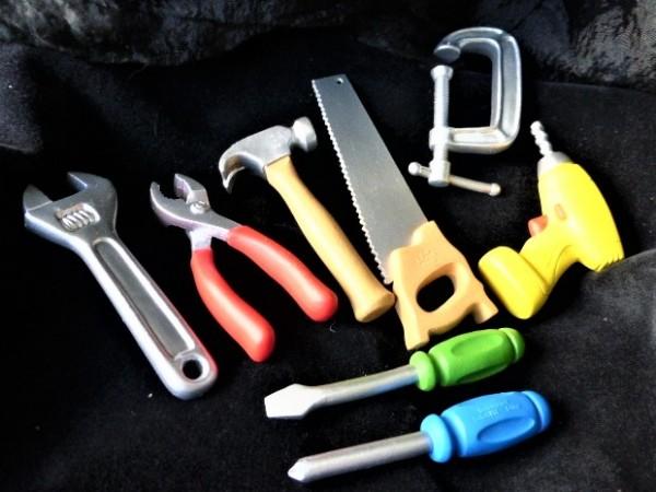 Röhre: 'Tools / Werkzeuge'