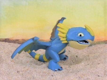 Mini: Drache 'Sturmpfeil' / 'Nadder' - blau