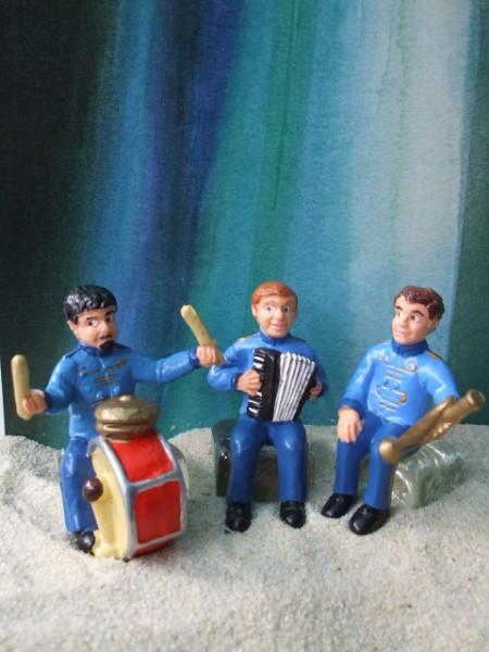 Musiker - 3er Set