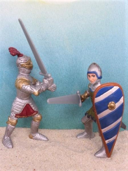 Ritter-Set: Kampf mit Schwertern