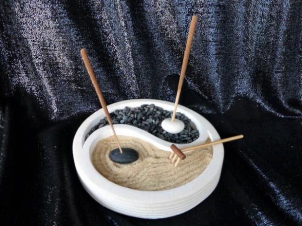 Yin Yang Schale ... mit Zubehör