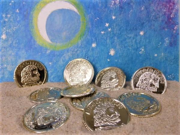 Goldmünzen / Goldschatz - 10 Stück