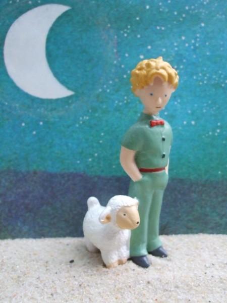 'Kleiner Prinz' ... mit gefräßigem Schaf