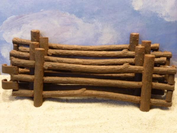 vier lange weidezaunteile aus baumst mmen mauern z une zubeh r einkaufswelt sandspiel. Black Bedroom Furniture Sets. Home Design Ideas