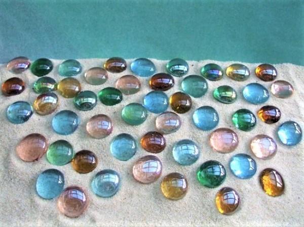 Glasnuggets MIX - Erd- & Wasserfarben