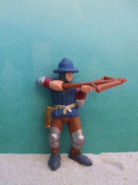 Ritter: Bogenschütze - blau