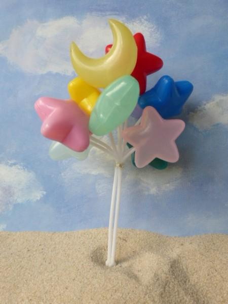 Luftballonbündel 'Mond & Sterne'