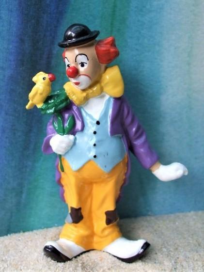 Clown 'Enrico' ... mit Vogel