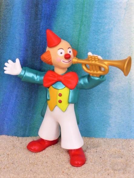 Clown ... mit Trompete