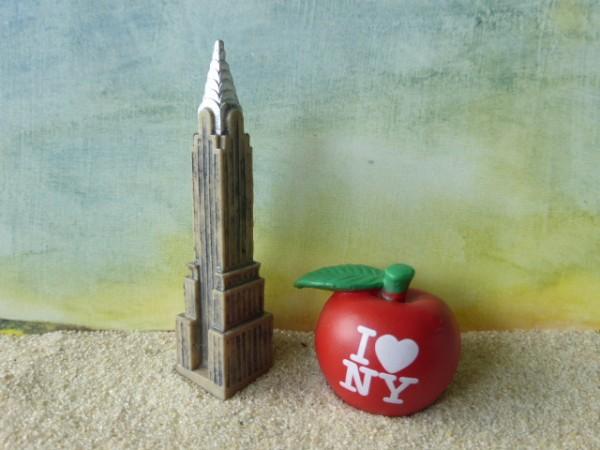 Chrysler Building & Big Apple - Serie 'New York City'