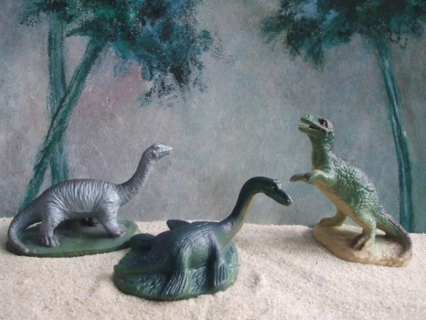 'T-Rex & Co.' / Kleine Dinos - 3er Set