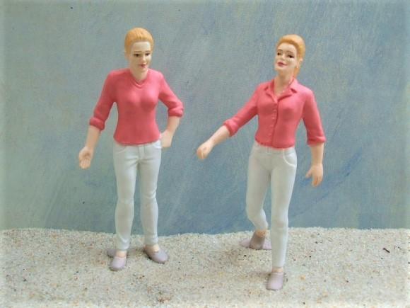 Junge Frauen / Zwillinge